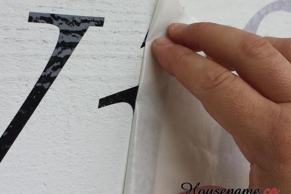 adhesive-house-address-sticker-custom font