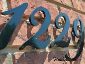 script house numbers