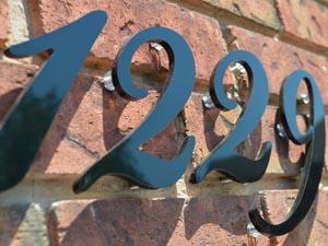 home address script signs
